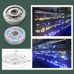 Indicatore luminoso subacqueo della fontana della piscina di RGB 316ss 27watt IP68 LED