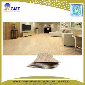 La tabla de madera impermeable de PVC WPC piso de vinilo suelos Spc línea de maquinaria de la extrusora