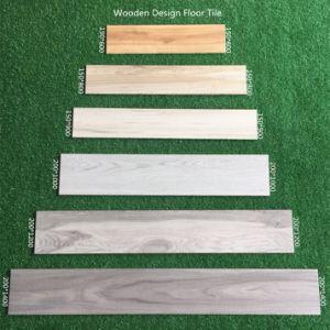 bouwmateriaal Inkjet van 150*800mm Verglaasde Ceramische Houten Tegel