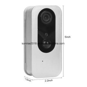 macchina fotografica alimentata del IP della rete di WiFi di potenza della batteria del leone 1080P