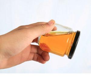 سدودة مصغّرة عسل تشويش إحتكار مرطبان زجاجيّة مع إلتواء من غطاء