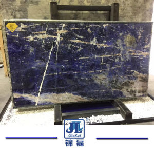 Sodaliteの青い碧玉の宝石の大理石のAzulバイアの半贅沢な石