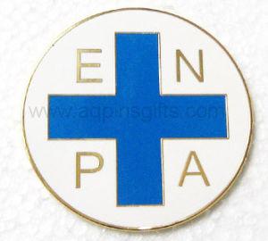 金の終わり亜鉛合金の金属の記念品の年次Fastpitchのソフトボールのバッジの折りえりPin (230)