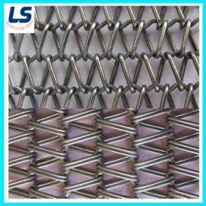 金属によってバランスをとられる織り方のコンベヤーベルト