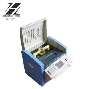 Strumentazione di prova portatile di Bdv di tensione di ripartizione dell'olio del trasformatore del laboratorio 100kv