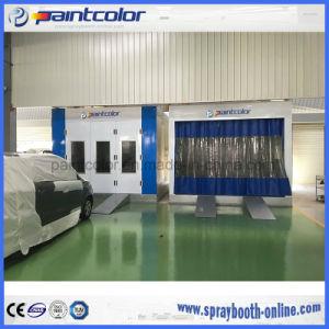 Hintere an der Wand befestigte Filter-Schrank-Vorbereitungs-Bucht-Vorbereitungs-Station gebunden worden mit Spray-Stand Paintbooth hoher Leistungsfähigkeit