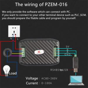 Ultimo tester della corrente di KWH di elettricità di alta precisione di monofase RS485 di CA di Peacefair