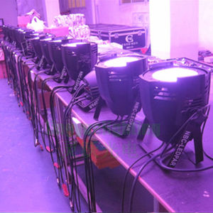 DJ DMX cambia de color 100W LED de la COB PAR
