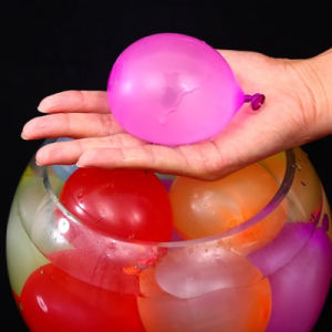 De duidelijke Kleurrijke MiniBallon van het Water van de Kinderen van het Latex Gekke Magische Opblaasbare