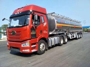 半48000Lアルミニウム燃料の/Oilのタンカーのトレーラー48tの合金の木陰のトレーラー