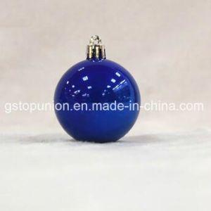 Perlados Baubles Caja de PVC bolas de Navidad Decoración de Navidad P12-DBB
