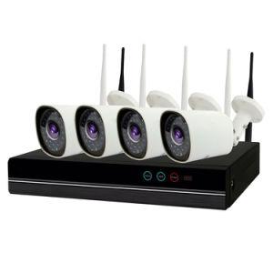Sistema esterno senza fili completo del CCTV della macchina fotografica del IP di obbligazione del kit 2MP WiFi di HD 1080P NVR