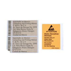 Het Etiket van de Sticker van de douane, het Afdrukkende Zelf Zelfklevende Etiket van de Sticker