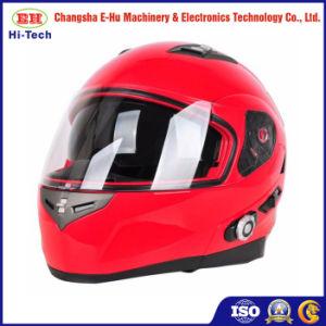 2018ライダーのための最も新しく黒いABS Bluetoothのオートバイのヘルメット