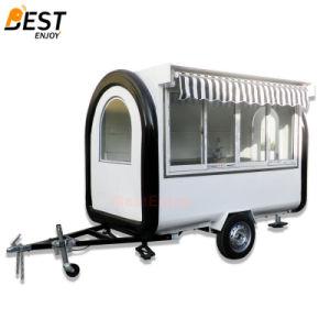 280X170cmのホットドッグのカートの販売のための移動式食糧トラックのトレーラー
