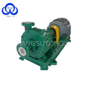 Anti-usure à usage intensif d'eau salée de la pompe centrifuge de saumure lisier
