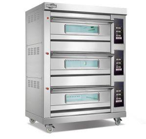 Comité Económico 3deck forno de pão de gás da bandeja 6 para a Grande Loja de padaria (WFC-306Q)