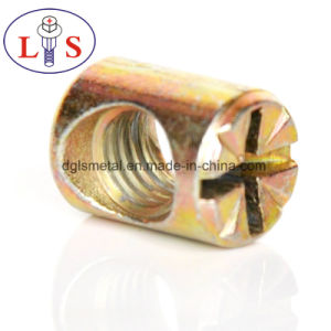 Écrou cylindrique /l'écrou avec meubles en alliage de zinc Pozidrive/ écrou cylindrique