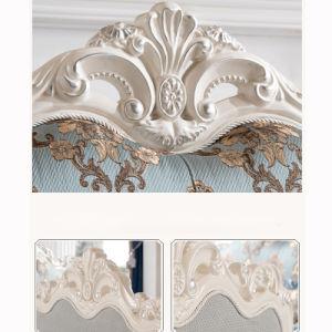 Estructura de madera artesanales hechos a mano en el sofá sofás opcionales en color (956)
