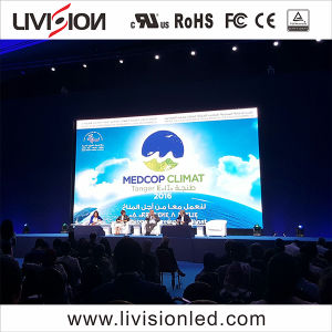 Caso o LED de tela de vídeo a cores interno de alta qualidade P2.9 tela LED do monitor de vídeo
