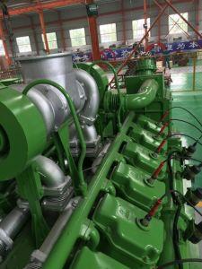 Energia elettrica silenziosa 500kw - insieme che sprigiona gas naturale 800kw