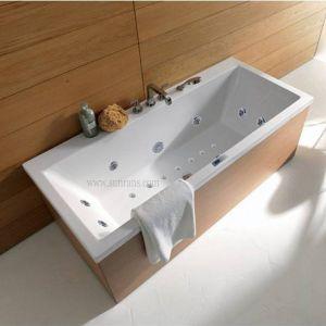 Vasche da bagno diritte libere dell'acrilico dell'interno classico (SR5E004)
