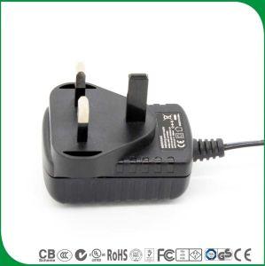 Cer BS zugelassener Großbritannien 3 Pin Gleichstrom-Ausgabe 12V 400mA Wechselstrom-Adapter