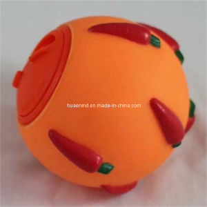 Rundes grünes Katze-Zufuhr-Kugel-Spielzeug