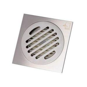 Personalizar de drenagem no piso de aço inoxidável