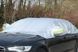 Cubierta plegable de gama alta de PEVA de la cubierta del coche de la sombrilla impermeable de gama alta