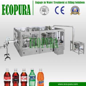 De sprankelende Bottelmachine van de (CSD) Frisdrank/de Vullende Lijn van de Drank van het Gas (3-in-1 dhsg18-18-6)
