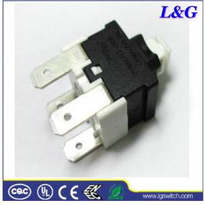 掃除機16A250VACの電源制御装置のマイクロ押しボタンスイッチ