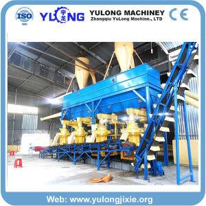 Le riz Husk presse Granulés Granulés de bois Making Machine avec la CE l'ISO