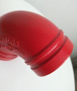 FM/UL/Ce ASTM-A536 approvato ha scanalato il gomito 90 per il sistema di lotta antincendio