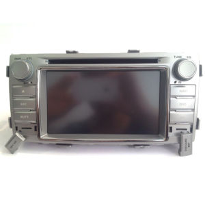 2 Toyota Hilux를 위한 DIN 에서 차량 DVD GPS 항법 단위