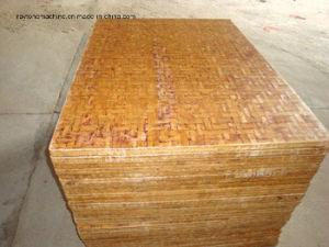Palet de madera para la máquina de ladrillo