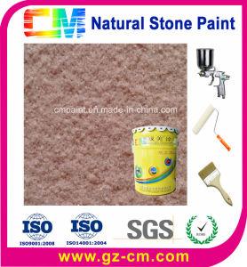 Exterior de base acuosa de resina acrílica Pintura de piedra natural