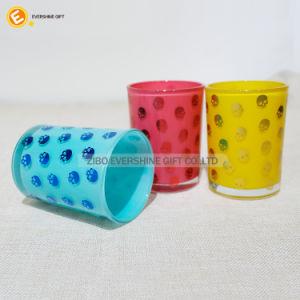 高品質によって着色される12oz飲むガラスのタンブラー
