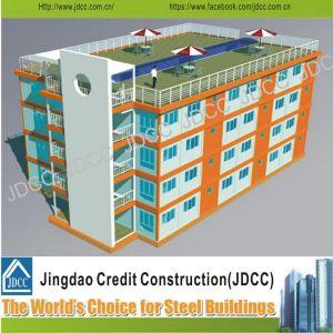 Estructura de acero de la luz de bajo coste Multi-Storey Edificio