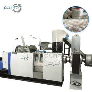 LDPE plástico/PE/BOPP filme granular de Pelotização de saco de tecido PP e HDPE Rectificação das sedes de grânulos de reciclagem de pelotas de estágio duplo único extrusor fazendo a máquina