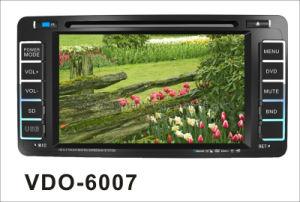2 DIN 차 DVD 플레이어 (VDO-6007)