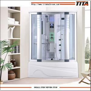 2016 Acrylique blanc Retour salle de douche (TA6150)