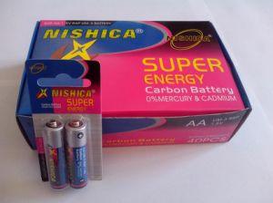 R6P R03p Pilha zinco-carbono no 2PCS pequeno cartão Pack (Nishica)