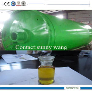 Continuous Distillation Type Rubber Oil Refining Plant 15tpd