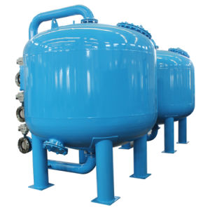 Filtro da acqua multigrade della sabbia per il trattamento di acque di rifiuto