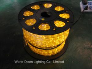 indicatore luminoso piano flessibile della corda del TUFFO di 5-Wire LED con multicolore