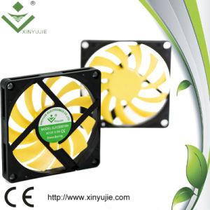 Portable que refresca el motor plástico impermeable del Yeti del mini de los ventiladores ventilador axial de dc 80m m
