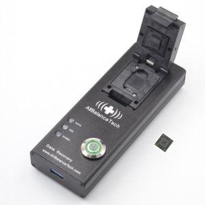 Emmc169/153 USB3.0 Leser Chip-weg Wiederanlauf-Auszug-Daten der Kontaktbuchse-BGA169 BGA153 vom unterbrochenes Wasser-körperlichen Schaden androides Smartphones, Emmc Einheit LED Fernsehapparat GPS
