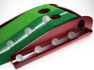 Campo de golf de madera maciza Ball-Back Auto poniendo formador