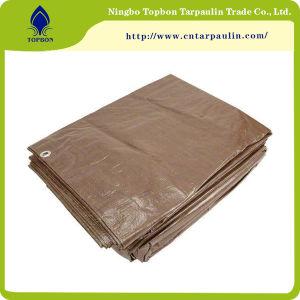 180GSM, a impermeabilização de PE, cobrindo a folha de plástico de toldo